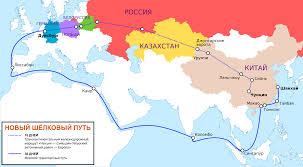 Silk Road Map File New Silk Road Ru Svg Wikimedia Commons