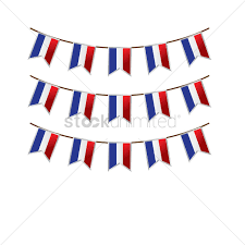 Frwnch Flag France Flag Buntings Vector Image 1567830 Stockunlimited