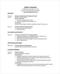 Best It Resume Template by Sample Resume 34 Documents In Pdf Word
