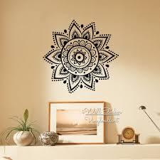 Om Wall Decal Mandala Vinyl by Aliexpress Com Buy Mandala Wall Sticker Modern Yoga Wall Decal