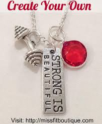create your own necklace 340 likes 5 comments motivational fitness jewelry