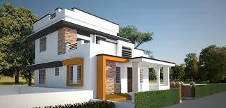 contemporary style home veedu designs kerala home designs