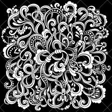 modern background with floral ornament royalty free vector clip