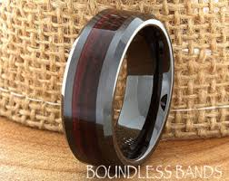 mens wedding band wedding bands etsy