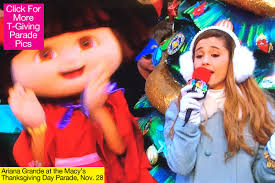 grande performing at macy s thanksgiving day parade last