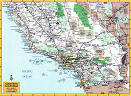 State Map Of California by National Parks Of California State