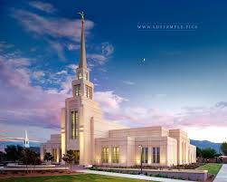 gila valley temple sunset lds temple pictures