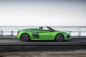 2018 audi r8 spyder v10 plus revealed in germany