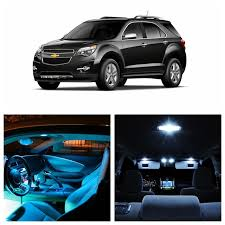 chevrolet equinox blue 9pcs white ice blue led light bulbs for 2010 2015 chevy chevrolet