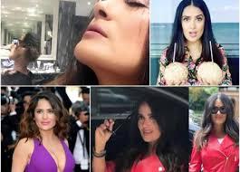 Salma Hayek Meme - 12 fotos de salma hayek que enloquecieron redes en 2017 la silla rota