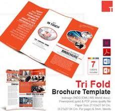 tri fold brochure template word doc format brochure template
