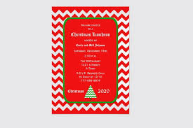 christmas lunch invitation 6 lunch invitations jpg vector eps ai illustrator