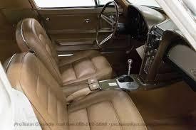 Saddle Interior Ermine White Paint With Saddle Tan Interior 1965 Corvette 1963