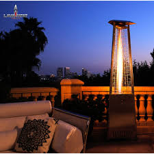 Stainless Steel Patio Heater Hiland Telescopic Electric Patio Heater With Adjustable Head