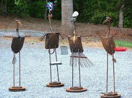 recycled b metal b b yard b b b b yard b birds