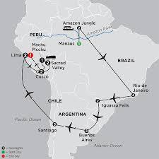 Amazon Rainforest Map Tour Peru On This Amazon Vacation Cosmos Budget Tours