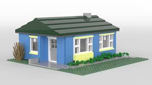 lego ideas lustron house
