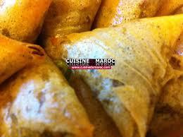 menu cuisine marocaine recette ramadan brick au poulet marocain