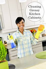 Best Way To Remove Grease From Kitchen Cabinets by How To Clean Greasy Kitchen Cabinets