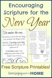 things you need for a new house encouraging scripture for the new year free printables