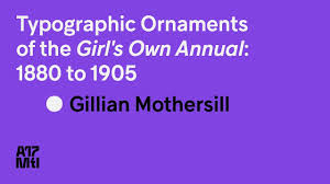 typographic ornaments of the s own gillian mothersill