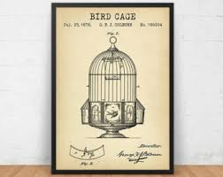 Birdcage Home Decor Bird Cage Decor Etsy