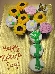 flower cupcake cakes for mother u0027s day
