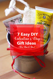 Valentines Day Gifts by 7 Easy Diy Valentine U0027s Day Gift Ideas For Him U0026 Her Red Leaf