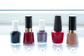 fall nail color faves