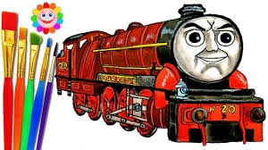 how to draw thomas and friends coloring pages hurricane train