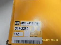 china caterpillar generator parts 347 2380 ring piston