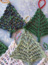 knitting patterns for tree ornaments rainforest