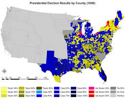 political maps maps of political trends election results donald
