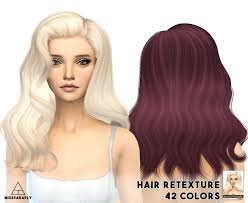 sims 4 hair cc best 25 sims 4 curly hair ideas on pinterest sims 4 sims 4