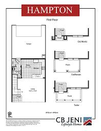 hampton ph iv by cb jeni homes arlington tx 76005 255 990