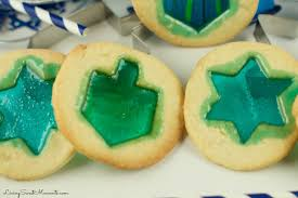 hanukkah cookies hanukkah stained glass cookies living sweet moments