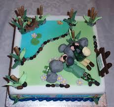 bird watching cake chocolate sponge cake chocolate buttercream