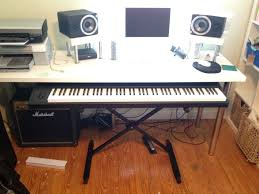 Diy Home Studio Desk by Music Workstation Desk Hostgarcia