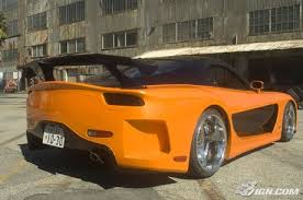 Veilside Rx7 Interior The Fast And The Furious Tokyo Drift Car Of The Day Veilside Rx