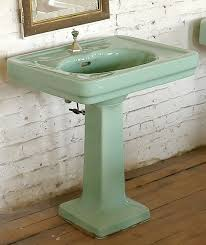 Pedestal Bathroom Sink by Antique Pedestal Sink Everything You Need To Know About Pedestal