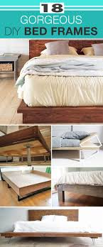 Gorgeous Bed Frames 18 Gorgeous Diy Bed Frames The Budget Decorator
