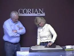 Does Corian Stain Vermont Solid Surface Corian Stain Removal Wmv Youtube