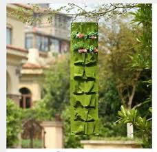 Ebay Vertical Garden - hanging plant pots wall vertical garden flower tower space diy