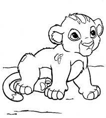 lion coloring pages print color craft