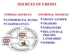 Formal Credit And Informal Credit money and credit by j k dogra k v delhi cantt no 3