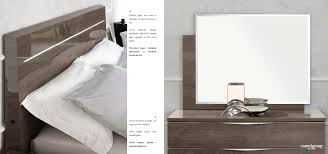 Diamante Bedroom Set Platinum Legno Bed Modern Bedrooms Bedroom Furniture