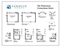sandlin floorplans waterstone u2013 sandlin homes