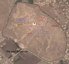 Map Of Ancient Middle East by Labelled Map Of Mari Modern Day Tell Hariri Syria Illustration