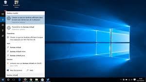 bureaux virtuels windows 7 comment utiliser les bureaux virtuels dans windows 10