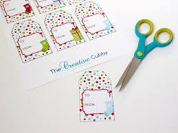 the creative cubby free printable polka dot christmas gift tags